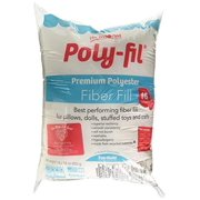 Poly-Fil PF16B Premium Fiber Fill 16 Ounce Bag, White