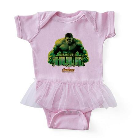 CafePress - Avengers Infinity War Hulk - Cute Infant Baby Tutu Bodysuit - Baby Avengers