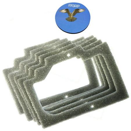 HQRP 5 Pack Foam Gasket Air Filters for Homelite UT 10608 UT 10609 Cha