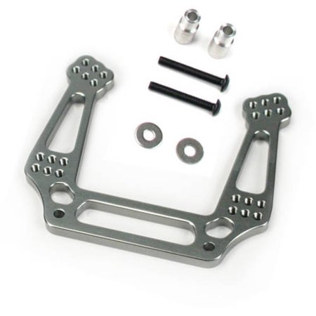 - Alloy Front Shock Tower for Traxxas Stampede 2WD, 1:10, Grey