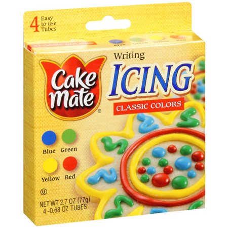 Cake Mate Classic Colors Writing Icing