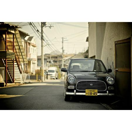 Canvas Print Auto Vehicle Vintage Japanese Japan Daihatsu Car Stretched Canvas 10 x 14
