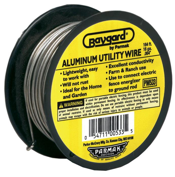 Baygard Parker Mccrory 00533 Baystock Single Strand Aluminum Wire
