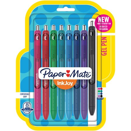 Paper Mate® Gel Pens InkJoy® Pens, Fine Point, Assorted, 8 Count