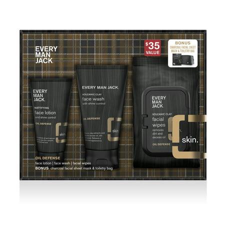 Every Man Jack Skin Oil Defense Kit