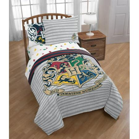 Harry Potter Boys Reversible Twin Comforter Sheet Set