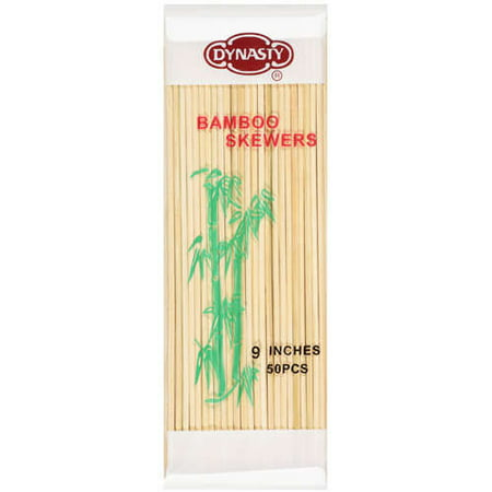 Dynasty: Bamboo Skewers, 50 Ct