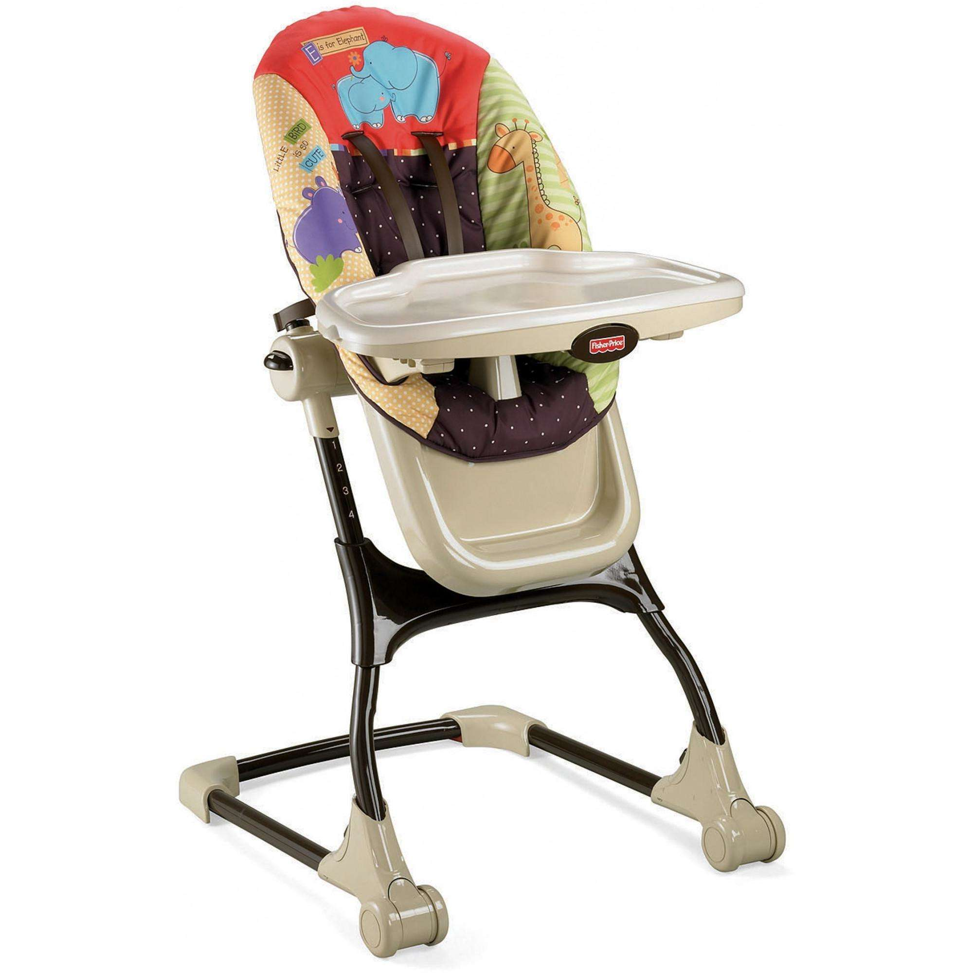 fisher price ez clean high chair luv u zoo walmart com