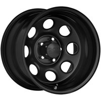 "Black Rock 997B Soft 8 17x9 5x5.5"" -12mm Black Wheel Rim 17"" Inch"