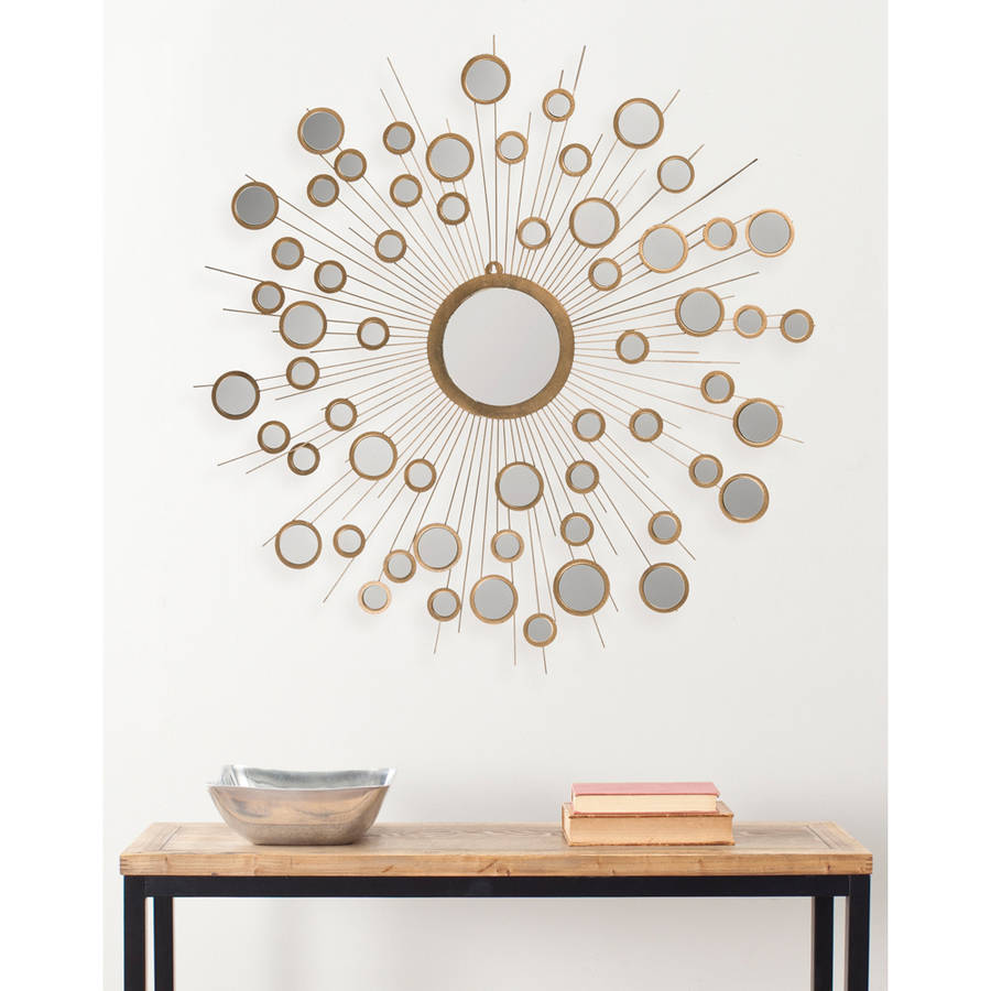 Safavieh Kiania Contemporary Bursting Mirror