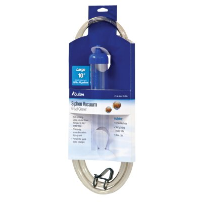 10 Inch Gravel Tube - Aqueon Products-supplies-Siphon Vacuum Gravel Cleaner Large/10 Inch