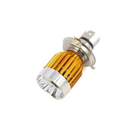 3H4 9W LED Projecteur ampoule lampe en métal aluminium pour voiture électrique Moto - image 4 de 4