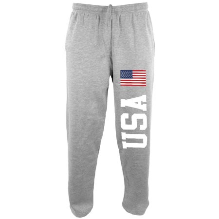 4th Of July America Flag World Cup Mens Sweatpants (American Flag Sweatpants)