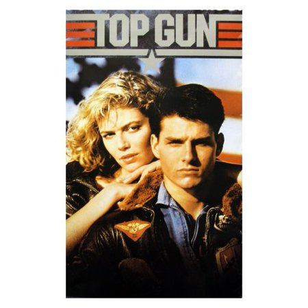 Top Gun Movie Tom Cruise And Kelly Mcgillis 80S Poster Print   11X17     By Poster Revolution Ship From Us