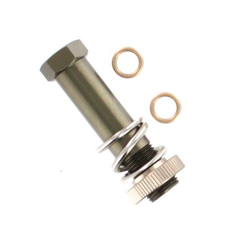 Redcat Racing 07141 Aluminum Buffer Post and Spring Rampage XR, XB, XBE, XT, XTE Ar 15 Buffer Spring