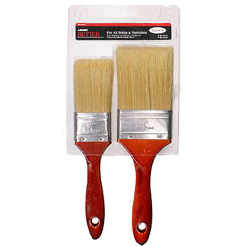 Stain/Varnish Brush Set, 2pc