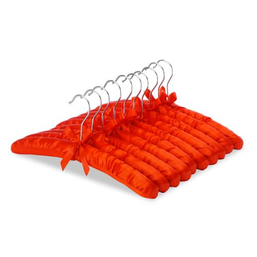Whitmor Satin Padded Blouse Hangers, 10-Pack