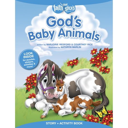 God's Baby Animals Story + Activity Book](Halloween Stories Activities)