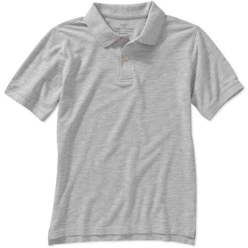 Faded Glory Boys' Short Sleeve Solid Polo Shirt