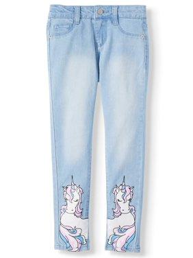 Freestyle Revolution Unicorn Wishes Skinny Jean (Little Girls & Big Girls)