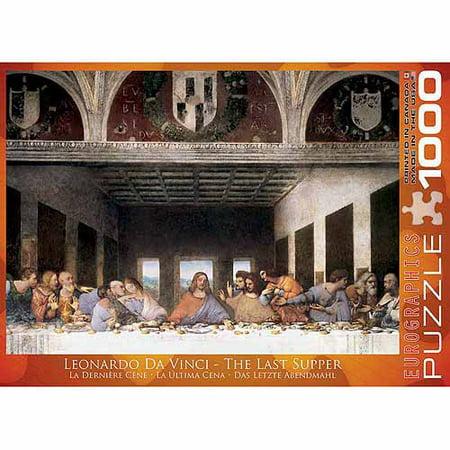 EuroGraphics The Last Supper by Leonard Da Vinci 1000-Piece (Clementoni The Last Supper 13200 Piece Jigsaw Puzzle)