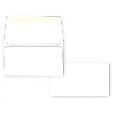 #6 3/4 Remittance Envelope - Wallet Flap - 24# White (3 5/8 x 6 1/2) (Pkg of -
