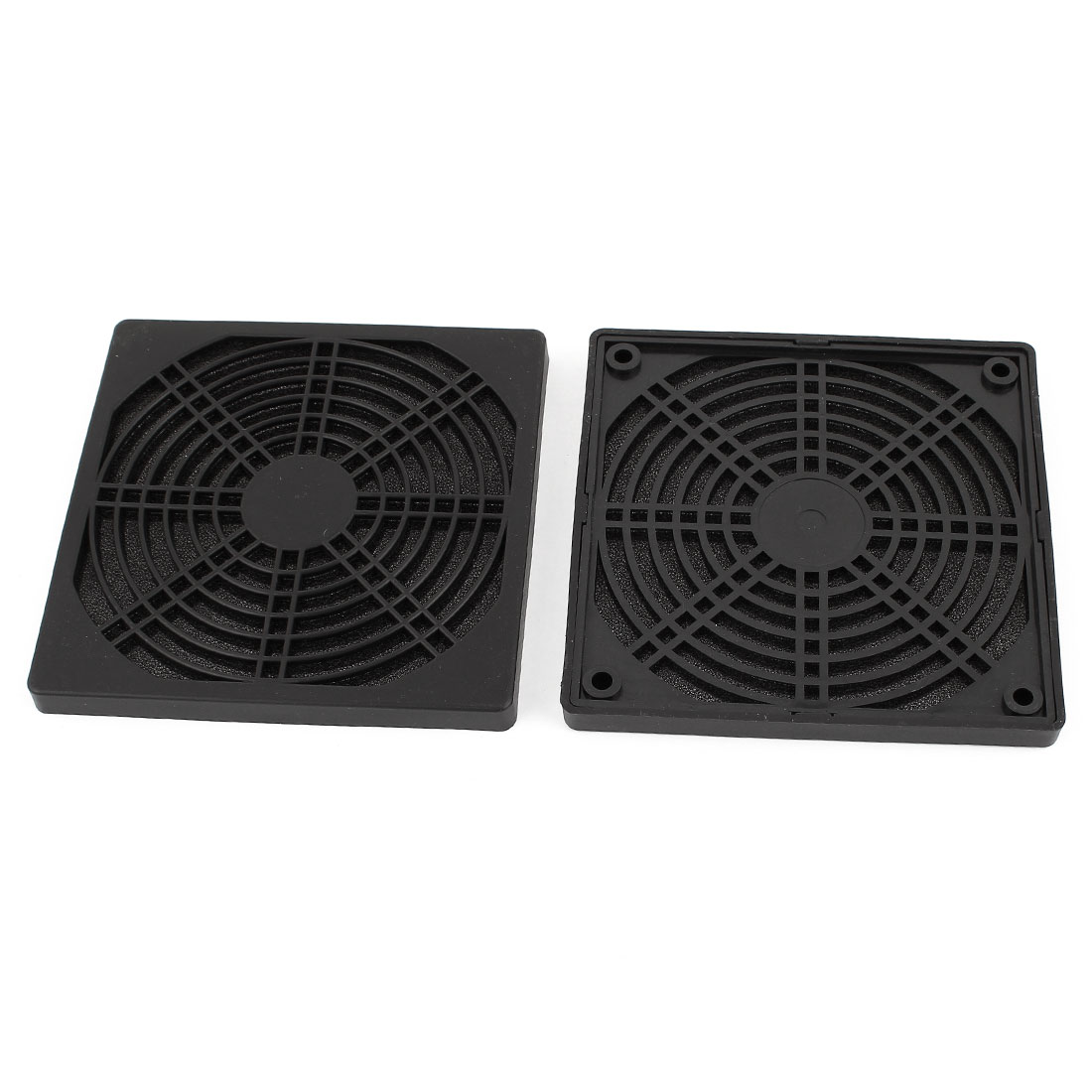 2 Pieces Dustproof Dust Filter Guard Grill Cover for 120mm PC Computer Case Fan