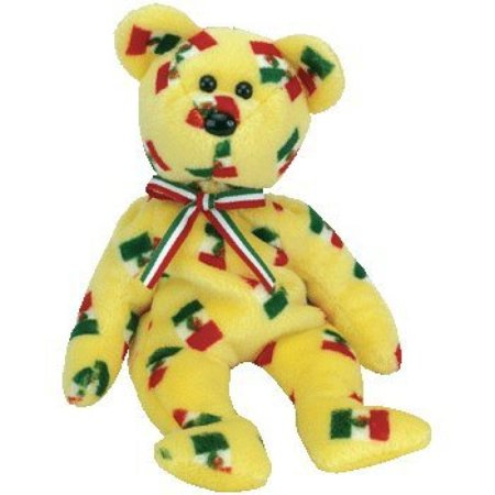 Pinata the Beanie Baby Bear with Black Nose