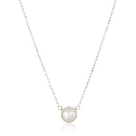 Dogeared Best Mom Necklace - Dogeared Pearls of Wisdom Sterling Silver Freshwater Pearl Necklace - PS2022