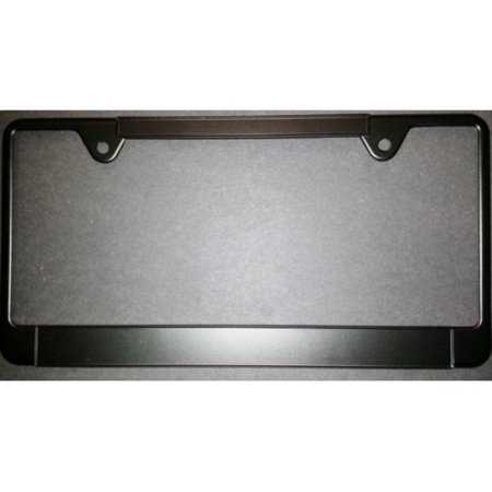 100a Service Panel (Black Thin Top Double Panel License Frame  100 pk)