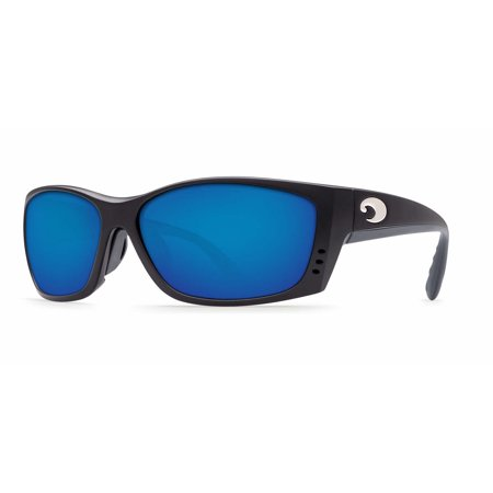 Costa Del Mar Fisch Fs 11Gf Matte Black Global Fit Sunglasses Blue Lens 580P