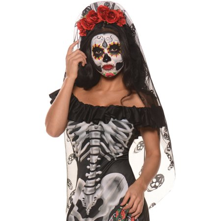 Day Of The Dead Mantia Adult Halloween Accessory - Day Of The Dead Halloween Costume Ideas