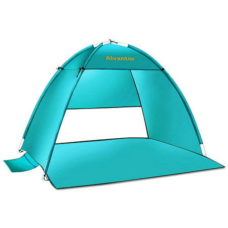 Beach Tents Coolhut Beach Umbrella Outdoor Sun Shelter Cabana Pop-Up UV50+ Sun shade by Alvantor ()