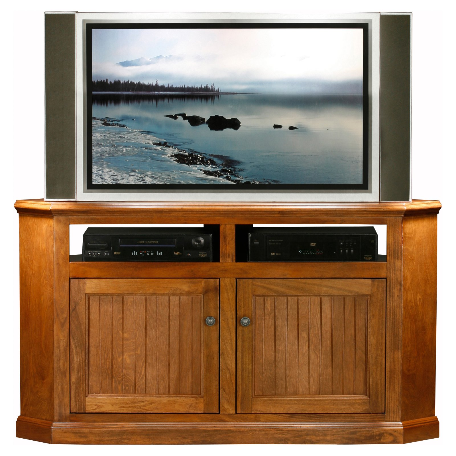 Eagle Furniture Coastal 56 in. Corner Entertainment Center