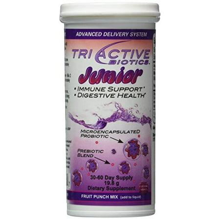 Triactive Biotics Junior 30 60 Day Supply Fruit Punch Flavor