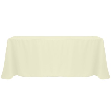 Ultimate Textile 90 X 156 Inch Rectangular Polyester Linen