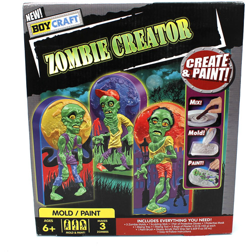Boys Craft Make Zombies