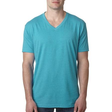 Branded Next Level Mens CVC V - BONDI BLUE - S (Instant Saving 5% & more on min (Bondi For Sale)