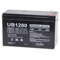 Universal - UB1280 12V 8AH Sealed Lead Acid Battery F1 .187 TT