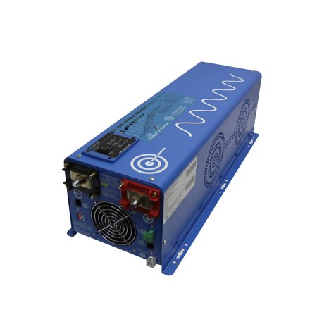 4000 WATT PURE SINE INVERTER CHARGER 48Vdc / 240Vac INPUT & 120/240Vac SPLIT PHASE OUTPUT 50 OR