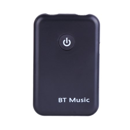 Mancro 2-in-1 Bluetooth Transmitter Receiver/Wireless 3.5mm Audio Adapter (AptX Low Latency for Both TX & RX, 2 Devices Simultaneously, for TV, iPod & CD-Player)