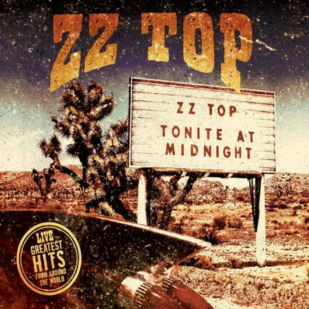 Zz Top Live   Greatest Hits From Around The World  Cd