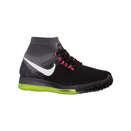 Nike Air Zoom All Out Flyknit Men's Running Shoe Black/Cool Grey/Volt/White