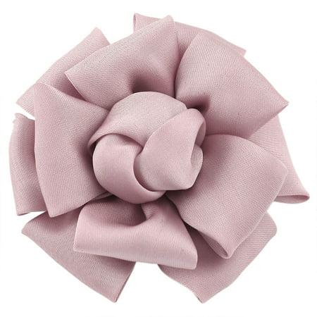 Unique Bargains Wedding Prom Light Pink  Rose Flower Style Corsage Hair Clip](Unique Prom Ideas)