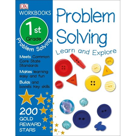 DK Workbooks: Problem Solving, First Grade : Learn and - First Grade Art Projects For Halloween