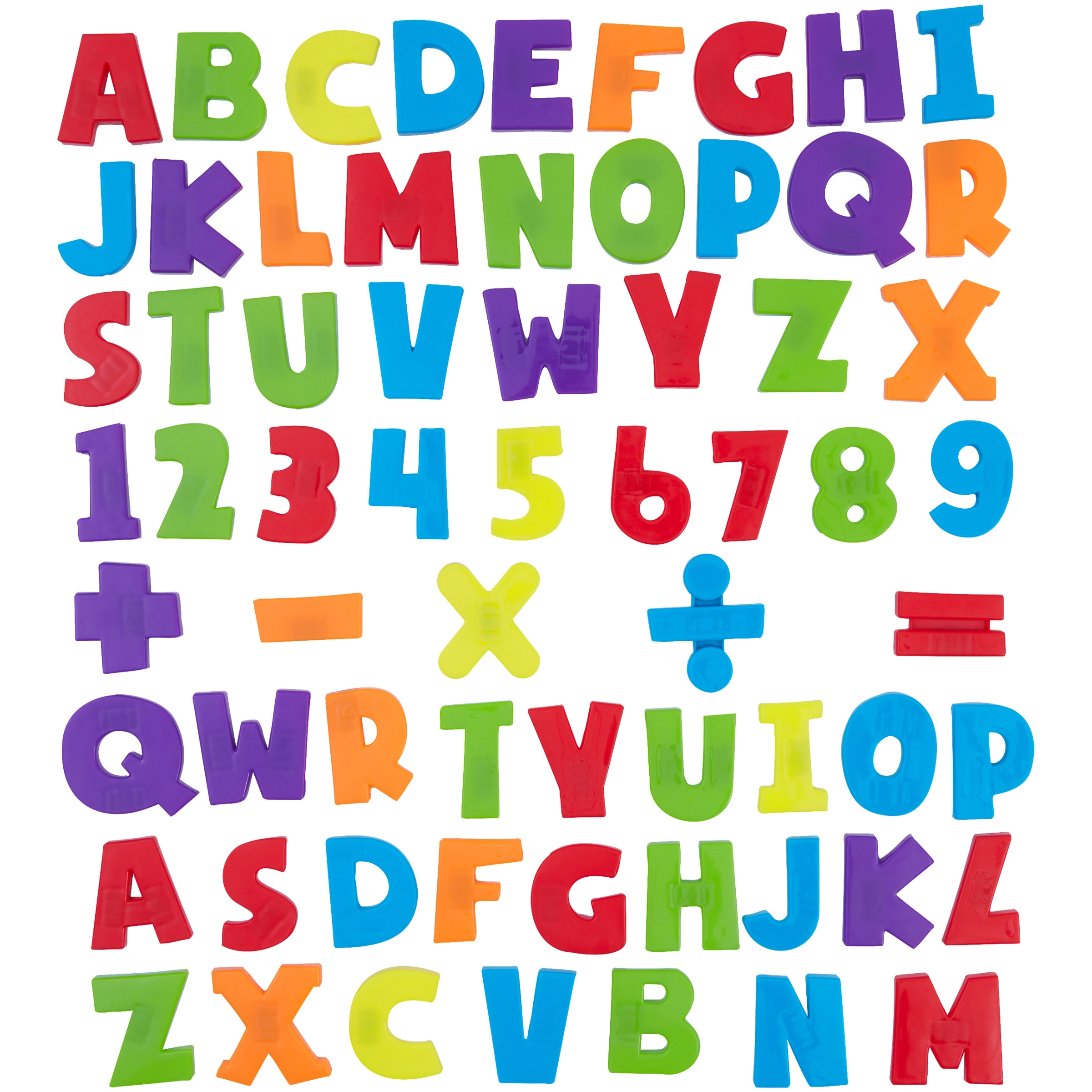 Spark. Create. Imagine. 120-Piece Magnetic Letters and Numbers