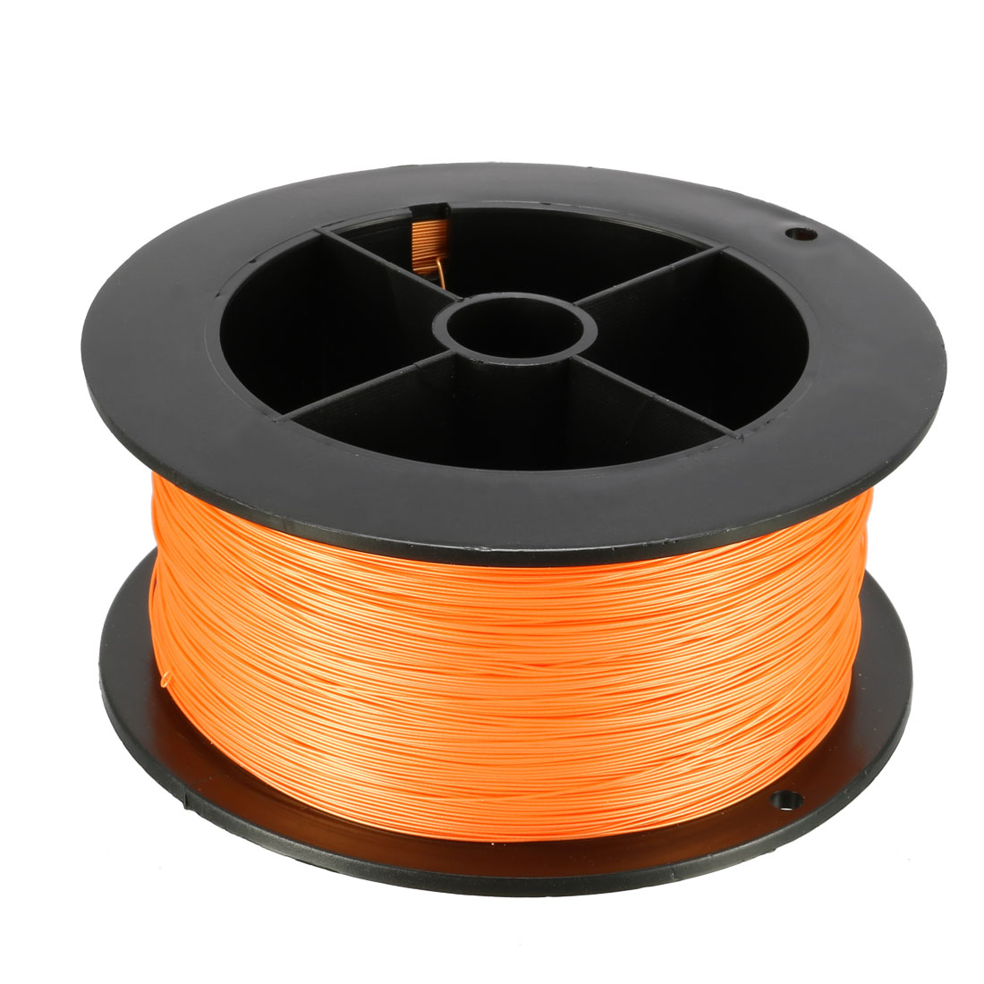 984.2FT Breadboard Wrapping Wire PCB Solder Silver Plated Copper Cable Orange