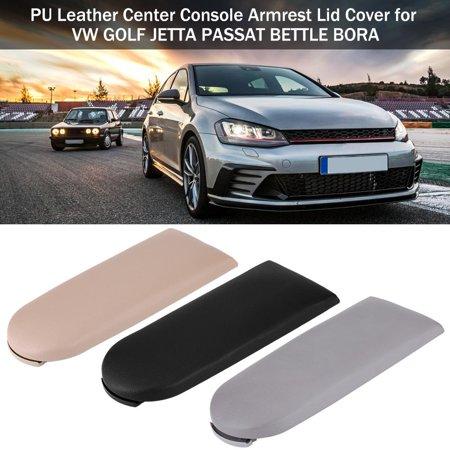TOPINCN PU Leather Center Console Armrest Lid Cover for VW GOLF JETTA PASSAT BETTLE BORA,Armrest Cover for VW,Armrest (Dealer Vw Passat)