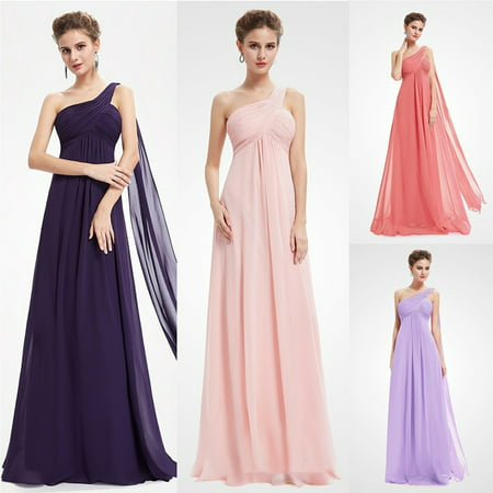 Ever-Pretty Women's Elegant Full-Length A-Line One Shoulder Wedding Guest Bridesmaid Dresses for Women 09816](Purple Weddings)