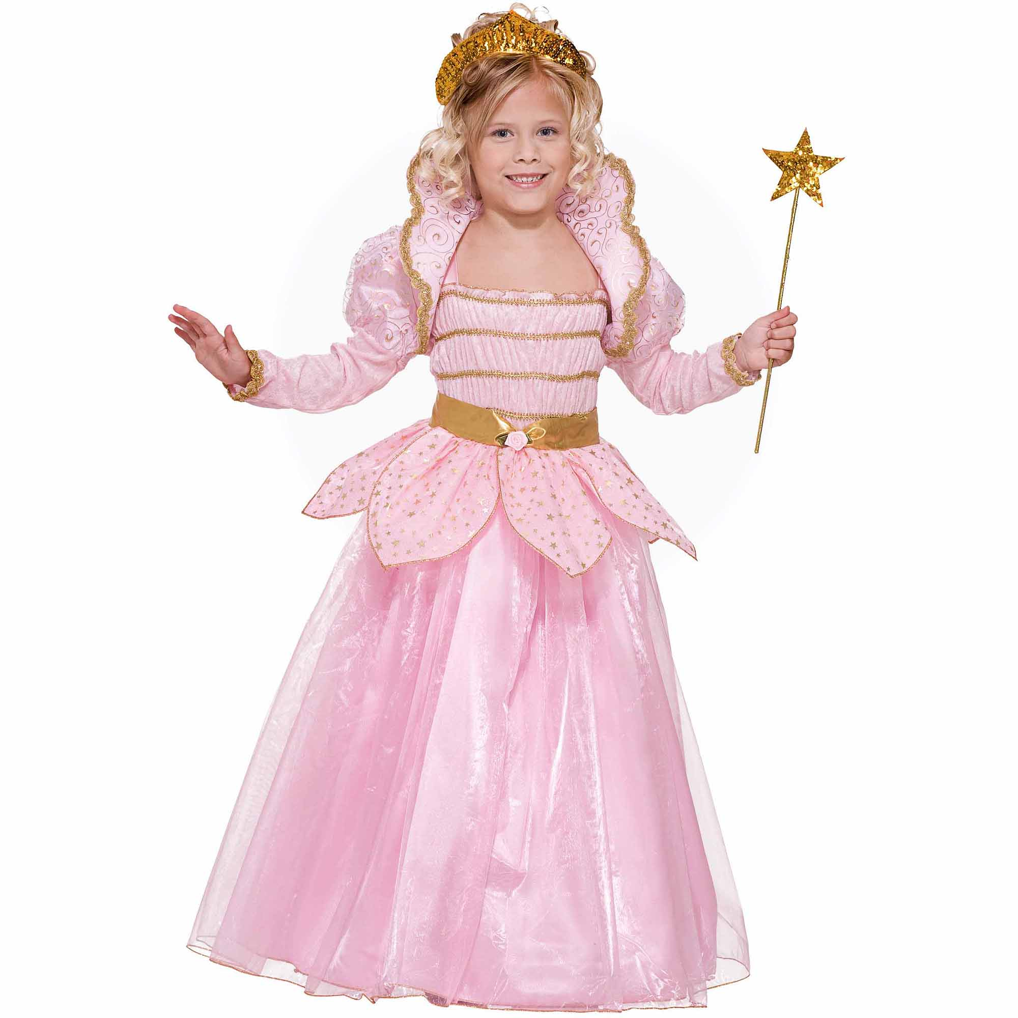 little pink princess child halloween costume walmartcom